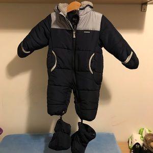 Winter snowsuit